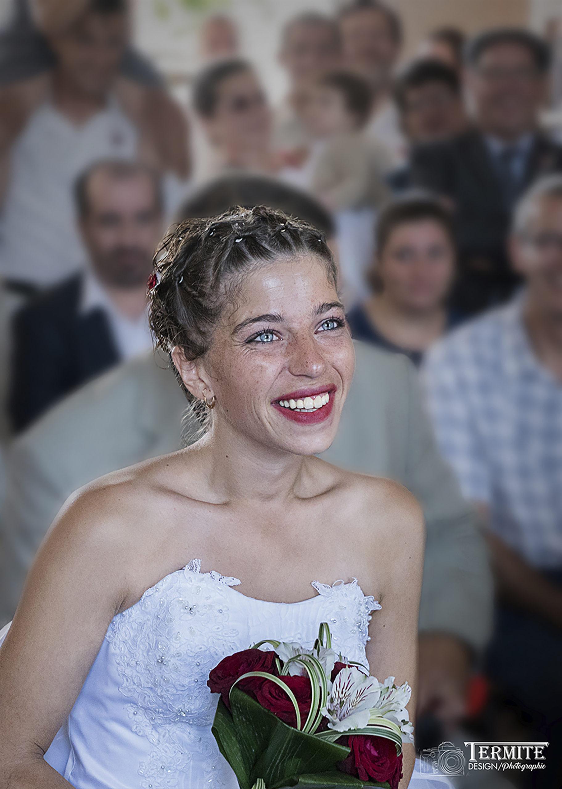 Mariés, mariage, mariée