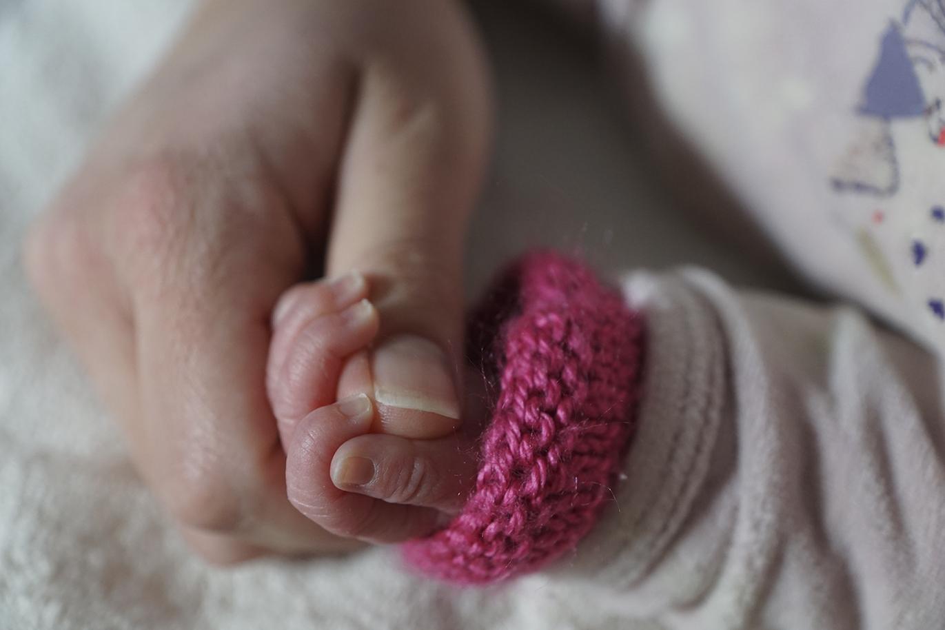 Naissance mains