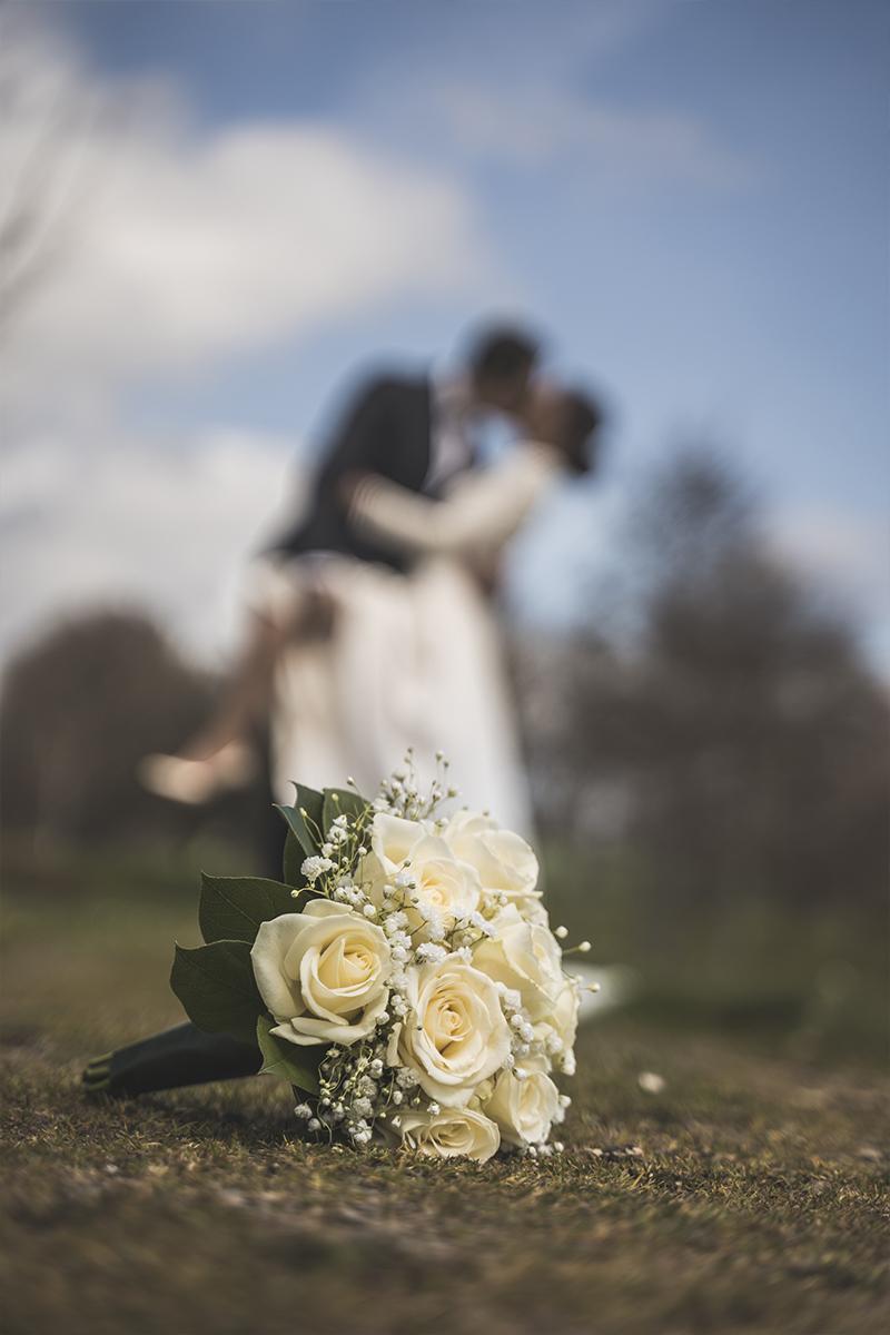 photo du bouquet de la mariée