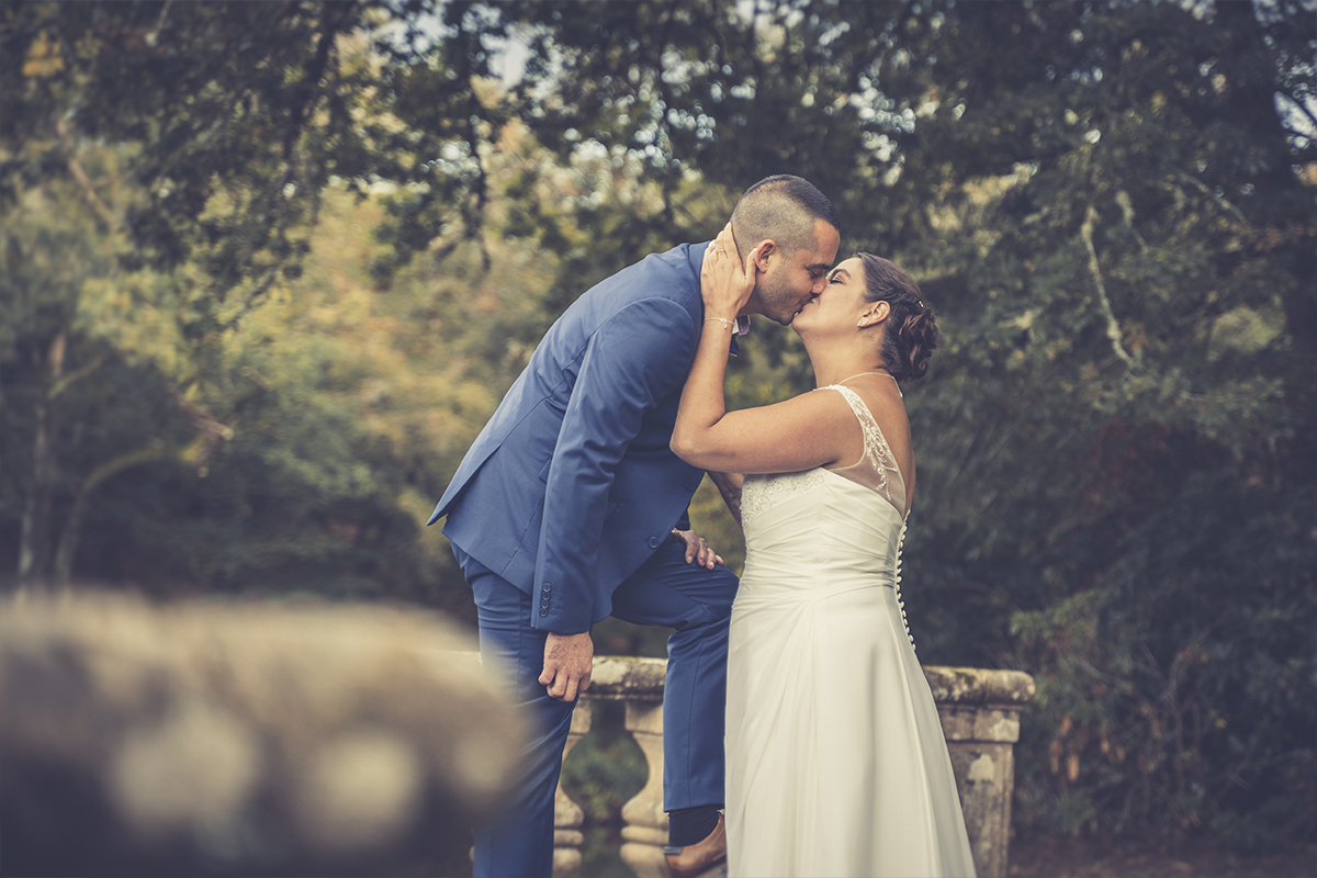 Mariage bisou caché ou pas